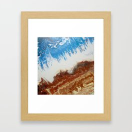 Earth and Sea Framed Art Print