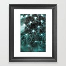 The Wishing Weed Framed Art Print