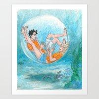 burdge Art Prints featuring Privacy  by Burdge