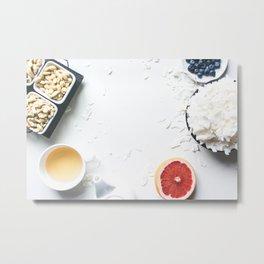 Breakfast Picture Metal Print