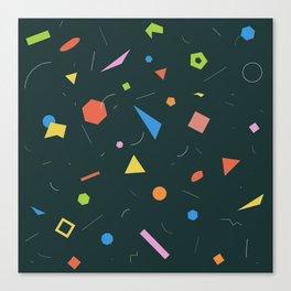 Polygon Soup Canvas Print
