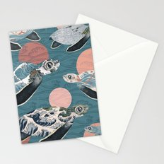 Sea Turtle Polka Stationery Cards