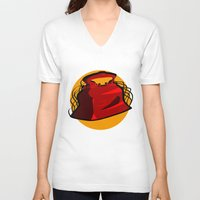 medical V-neck T-shirts featuring Medical Mechanica by 121gigawatts