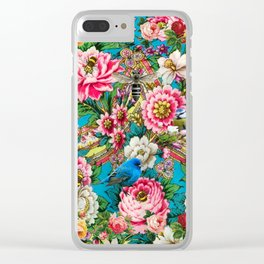 The Russian Birdforest Clear iPhone Case
