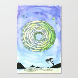 Sunburst Collection Canvas Print