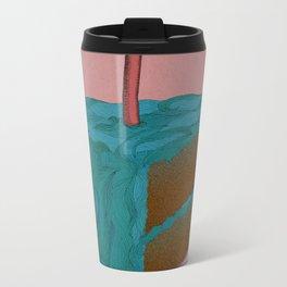 Happy Birthday! (blue) Metal Travel Mug