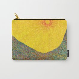 Here Comes the Sun - Van Gogh impressionist abstract Carry-All Pouch