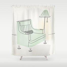 Grandma's Chair Shower Curtain