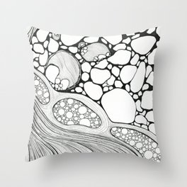 De Stress Throw Pillow