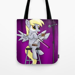 Derpy and her Musical Saw Tote Bag