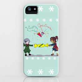 Ciel and Soma's Xmas iPhone Case