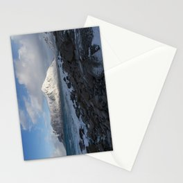 White, blue and grey Stationery Cards