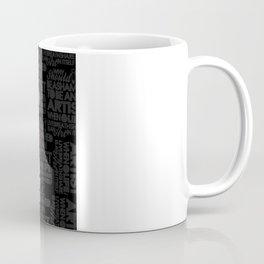 I am Artist (Black) Coffee Mug