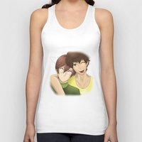 yaoi Tank Tops featuring Don't tell them~ by Manos-Art