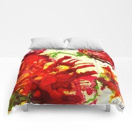 Poppy Explosion Comforters