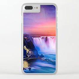 High in the Air Clear iPhone Case
