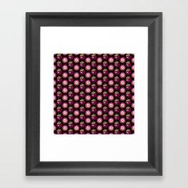 strange fruits (mangosteen) Framed Art Print