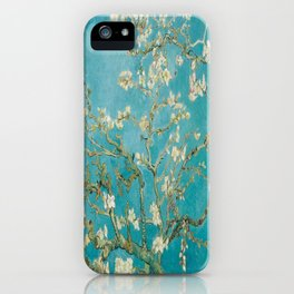 Vincent Van Gogh's Branches of an Almond Tree in Blossom iPhone Case