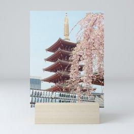 Tokyo Temple Mini Art Print