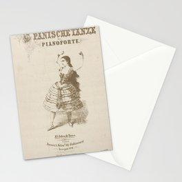 Duran y Ortega Josefa Spanische Tanze furs Pianoforte El jaleo de Xerexs Getanzt v Sign Pepita de OlivaAdditional Unidentified dance Stationery Cards