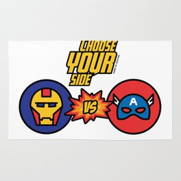 Choose your Side! Rug