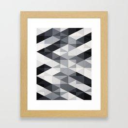 Geo Gradation Framed Art Print