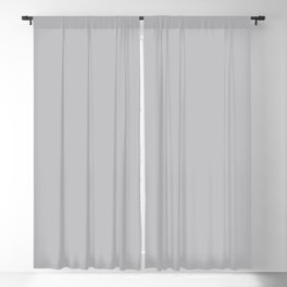 Quiet Gray | Pantone Fashion Color | Fall : Winter 2018 | Solid Color | Blackout Curtain