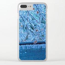 Malibu Icicles Clear iPhone Case