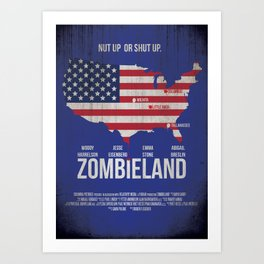 Zombieland Art Print