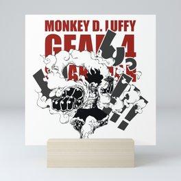 Gear 4 Snakeman Monkey D.Luffy Mini Art Print