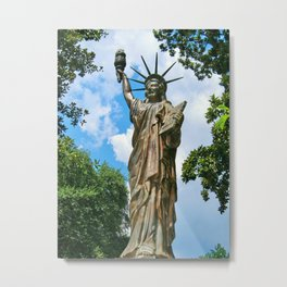 Little Lady Liberty Metal Print
