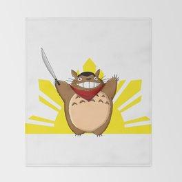Totoro Bonifacio Throw Blanket