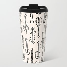 Vintage Instrument Collection  Travel Mug