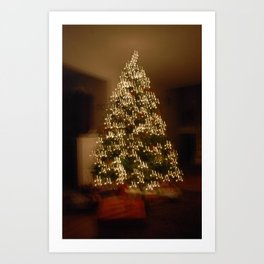 "Christmas Tree - ""M"" for Mom Art Print"