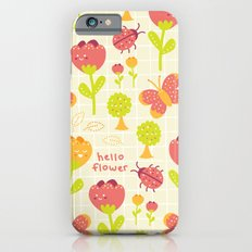 Hello Flower Slim Case iPhone 6s