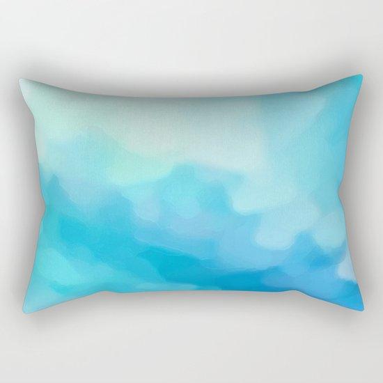 White Light, White Heat Rectangular Pillow