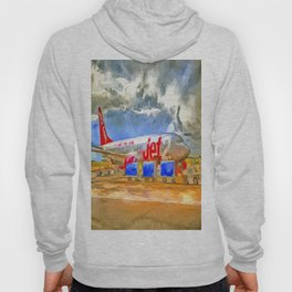Pop Art Airliner Hoody