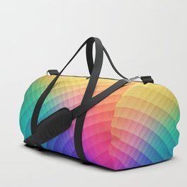 Spectrum Bomb! Fruity Fresh (HDR Rainbow Colorful Experimental Pattern) Duffle Bag