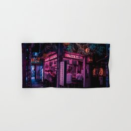 Ramen Corner in Tokyo Hand & Bath Towel