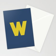 W is for... Stationery Cards