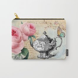 Vintage Flowers #17 Carry-All Pouch