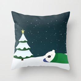 Christmas Dreaming Throw Pillow