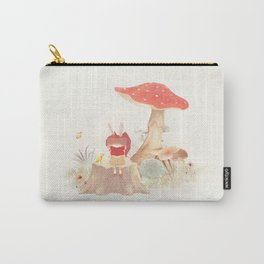 Silent Poetry Carry-All Pouch