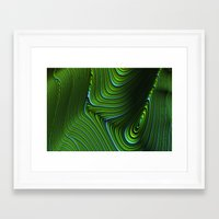 malachite Framed Art Prints featuring Malachite by Vix Edwards - Fugly Manor Art