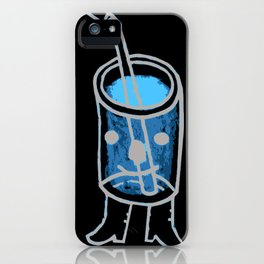 i'm a fancy beverage. iPhone Case
