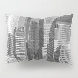 """Urban Angles 1 bw"" by Murray Bolesta Pillow Sham"