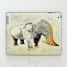 the elephant musician Laptop & iPad Skin