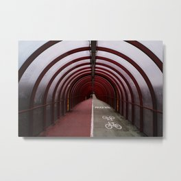 Surface Tension: Tunnel to SEC Metal Print