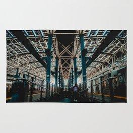 Coney Island Pier Subway Station 2 Rug