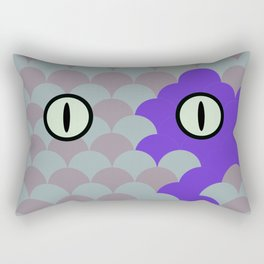 Chesire Scales - Cat Eye - Wonderland Rectangular Pillow